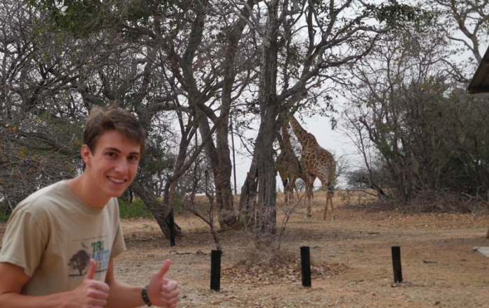 Running, Jogging, and Walking for My Life in the South African Bush